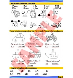 3rd Grade Holiday Booklet