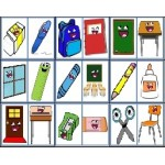 Classroom Objects - Magnet Set